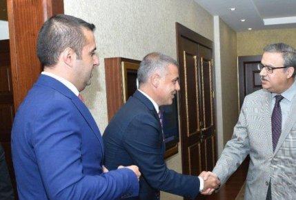 Mersin Giad Yönetiminden Vali Su'ya Ziyaret