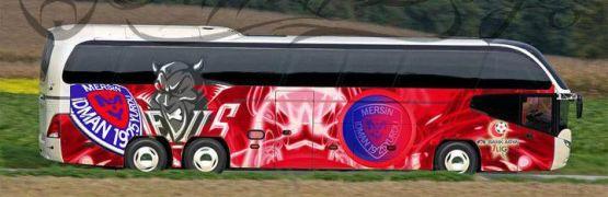 Mersin İdman Yurdu'na 5 yıldızlı otobüs!