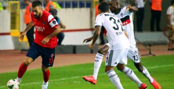 Mersin İdmanyurdu Beşiktaş Karşısında Boynu Bükük