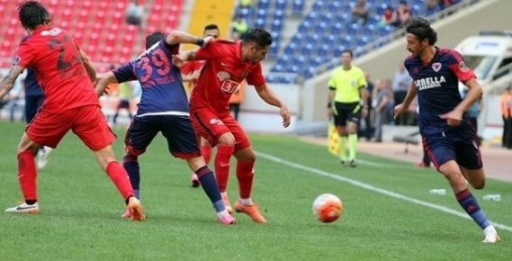 Mersin İdmanyurdu Sahasında Eskişehirspor'a Yenildi.