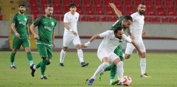 Mersin İdmanyurdu-Sivas Belediyespor: 0-1