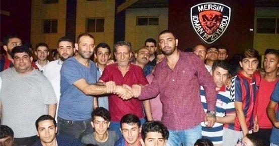 Mersin İdmanyurdu Taraftarı Takım İçin Tek Yürek!