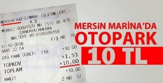 """Mersin Marina; """"Parası Olan Gelsin Kardeşim"""""""