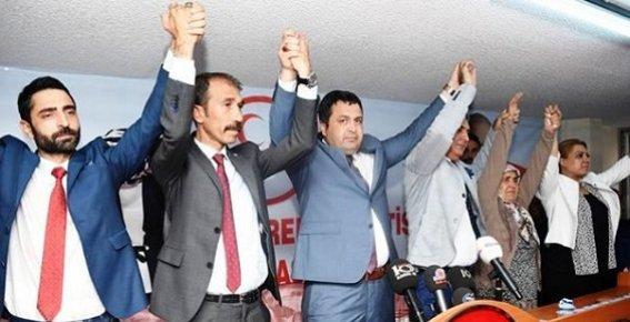 Mersin MHP İlçe Başkanları Değişti