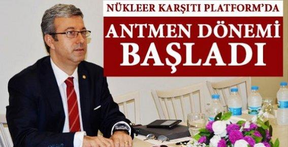 Mersin Nükleer Karşıtı Mücadelede Bayrağı Alpay Antmen Teslim Aldı.