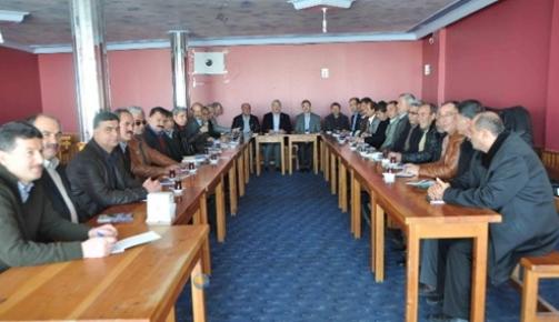 Mersin Orman Bölgede Toplu Sözleşme Görüşmeleri Başladı