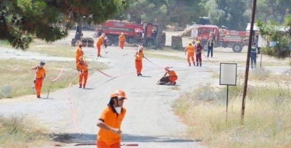 Mersin Orman İşçileri Yangın Sezonuna Hazır