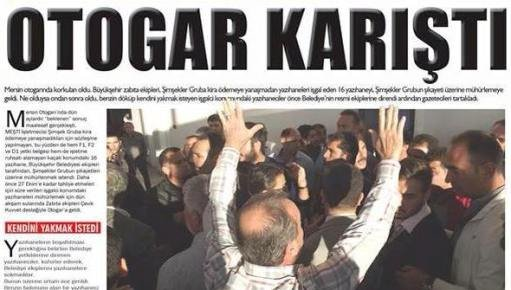 Mersin Otogarında Olaylar Çıktı Polis Müdahele Etti