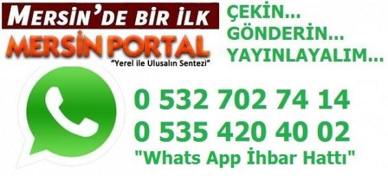Mersin Portal Whats App Haber İhbar Hattı.