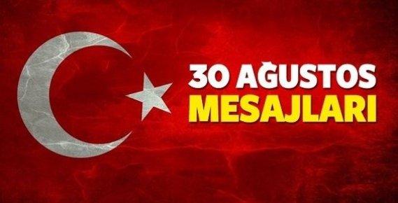 Mersin Protokolü 30 Ağustos Zafer Bayramını Kutladı.