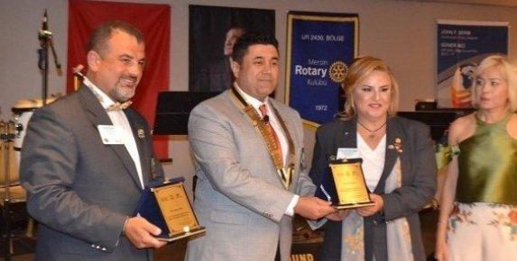 Mersin Rotary Kulübü'nde Başkanlık Görevini Serdar Vetem Devraldı