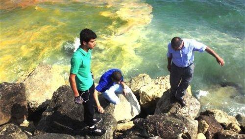 Mersin Sahilinde Çevre Kirliliği