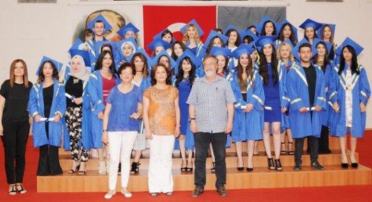 Mersin Üniversitesin'de Mezuniyet Coşkusu