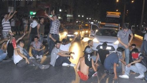 Mersin ve Hatay'daki Gösterilerde 110 Gözaltı