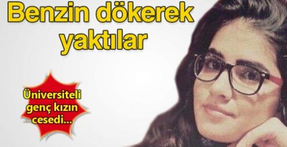 Mersin'de 20 Yaşında Kızı Yakarak Öldürdüler
