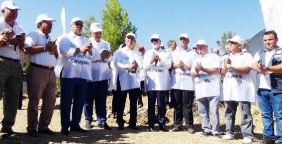 Mersin'de 249 Demokrasi Şehidi İçin 249 Keklik Doğaya Bırakıldı