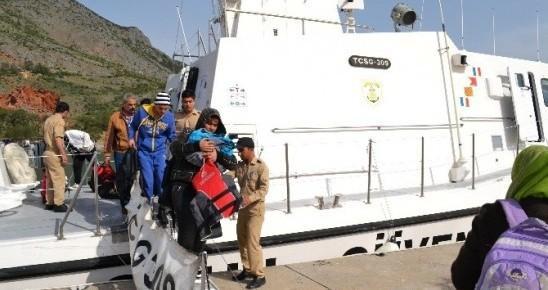 Mersin'de 250 Kaçak Göçmen Yakalandı