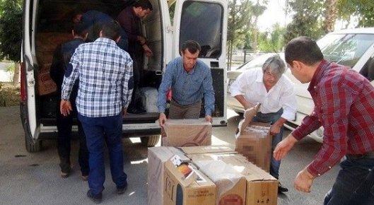 Mersin'de 25 Bin Paket Kaçak Sigara Ele Geçirildi.