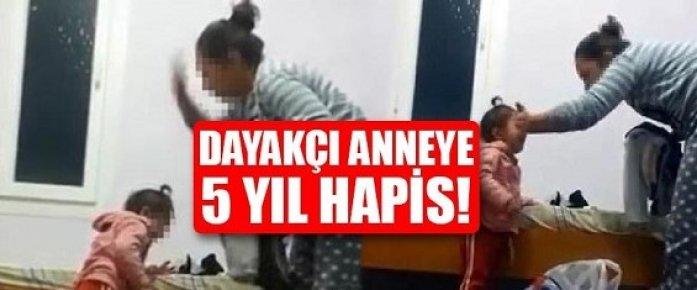 Mersin'de 3 Yaşındaki Çocuğu Döven Anne 5 Yıl Hapis İle Yargılanacak