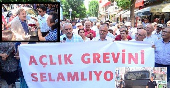 Mersin'de Açlık Grevlerine HDP'den Destek!