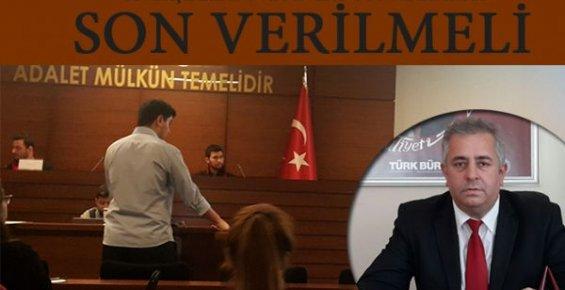 Mersin'de Adalet Çalışanları Tepkili!