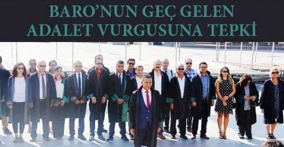 Mersin'de Adli Yıl Açılışında Avukatlar İkiye Bölündü.