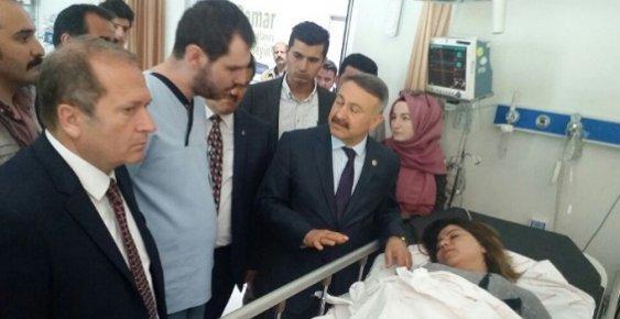 Mersin'de AK Partililere Saldırı