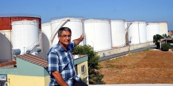 Mersin'de Akaryakıt Tankı Tehlikesi