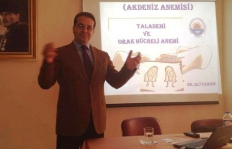 Mersin'de Akdeniz Anemisi Anlatıldı