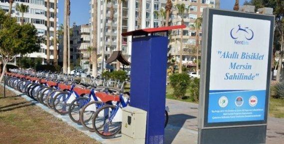 Mersin'de Akıllı Bisiklet Uygulaması