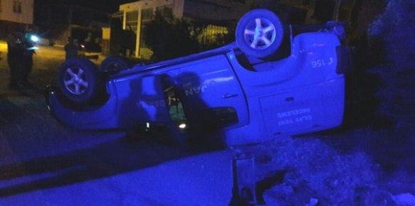 Mersin'de Askeri Araç Kaza Yaptı 2 Yaralı