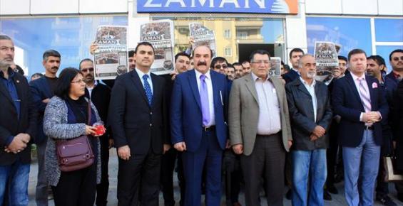 Mersin'de Basın Mensuplarından 14 Aralık Operasyonuna Tepki