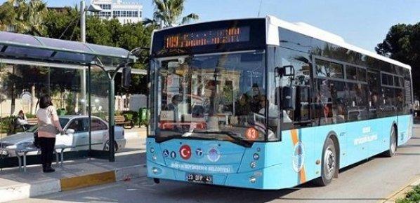 Mersin'de Bayram Boyunca Ücretsiz Toplu Taşıma