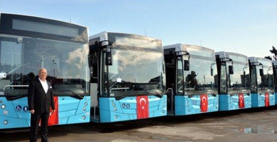 Mersin'de Bayramda Belediye Otobüsleri Ücretsiz