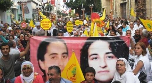 Mersin'de BDP Yürüyüşü