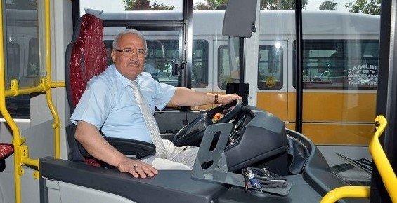 Mersin'de Belediyeye Ait Toplu Taşıma Araçları Bayramda Ücretsiz