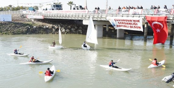 Mersin'de Berdan Nehri 1. Etap Projesinin Temeli Atıldı