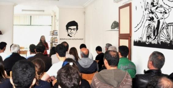 Mersin'de Berkin Elvan Kütüphanesi Açıldı.