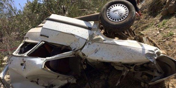 Mersin'de Bir Araç 150 Metre Uçurumdan Düştü