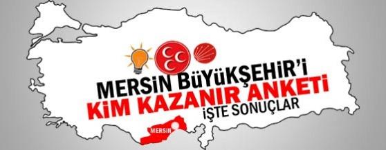 Mersin'de Büyükşehir Belediyesini Kim Kazanır ?