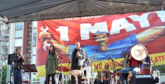 Mersin'de Çifte 1 Myıs İşçi Bayramı