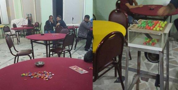 Mersin'de Dernek Adı Altında Kumar Oynatanlara Baskın