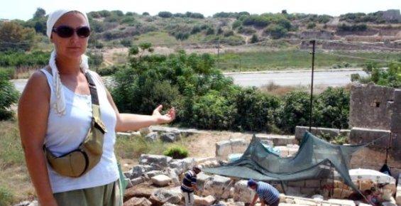 Mersin'de Elaussia Sebaste'deki Kazı Çalışmaları