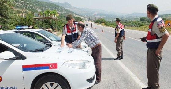 Mersin'de Emniyet Kemeri Takmayan Sürücülere Ceza Yağdı