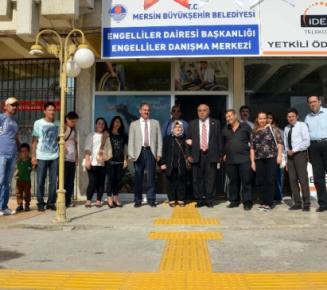 Mersin'de Engelli Danışma Merkezi Hizmete Girdi