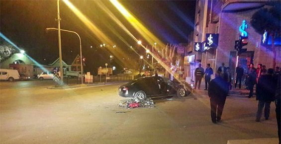 Mersin'de Feci Kazada 2 Kişi Öldü 2 Kişi Yaralandı.