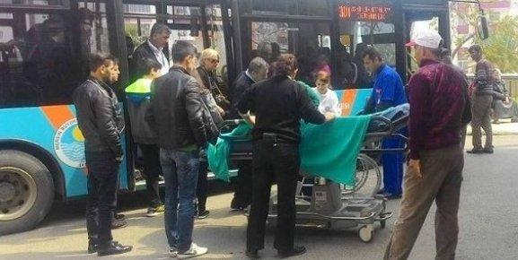 Mersin'de Fenalaşan Yolcuyu Belediye Otobüsüyle Hastaneye Yetiştirdi