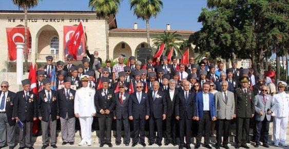 Mersin'de Gaziler Günü Törenle Kutlandı