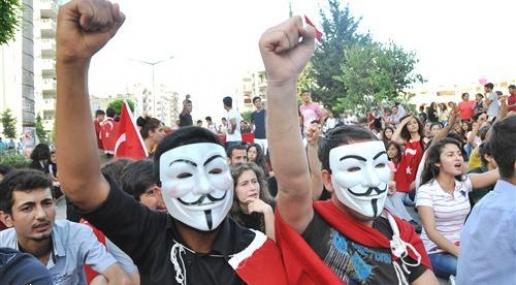 Mersin'de Gezi Parkı Eylemi