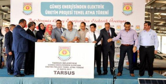 Mersin'de Güneş Enerjisinden Elektrik Üretilecek